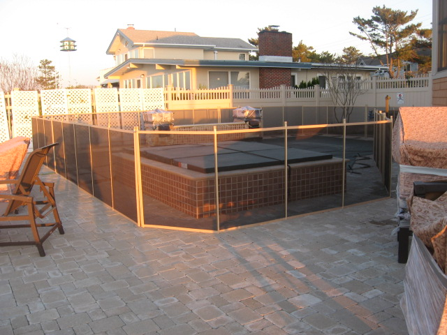 Pool Fence Removable Mesh Child Safety Pool Fences By
